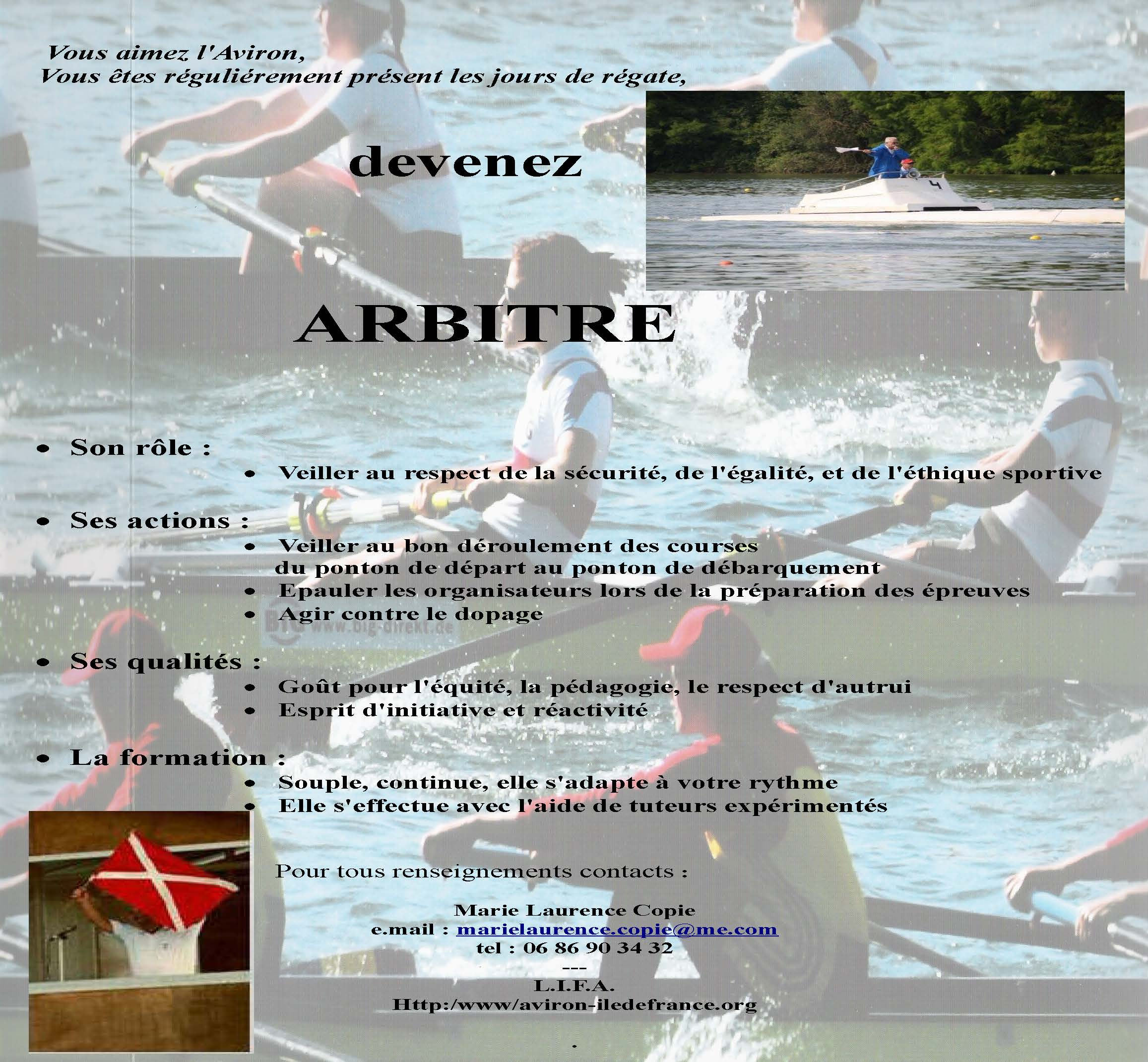 Formation arbitres ligue d 39 le de france d 39 aviron - Formation gardien d immeuble ile de france ...